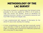 methodology of the lac survey