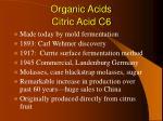 organic acids22
