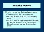 minority women