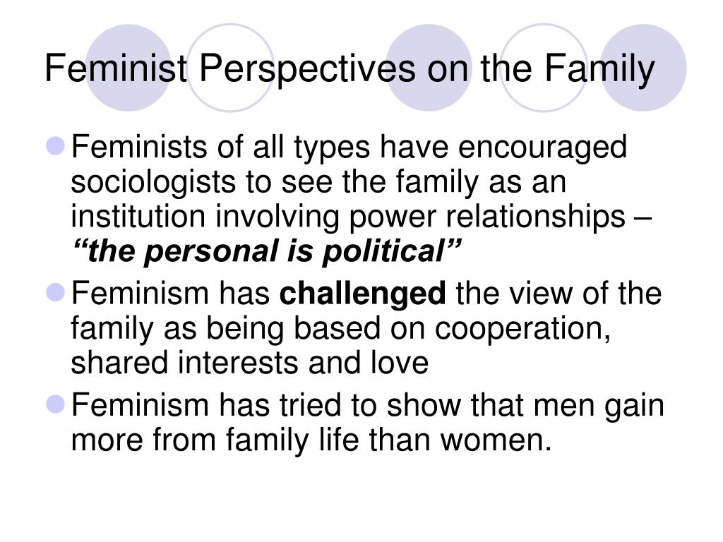 feminist perspectives on the family l.