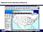 national food laboratory directory