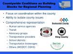 countywide coalitions as building blocks for regional planning