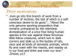 veterinary preventive medicine three motivations