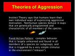 theories of aggression21