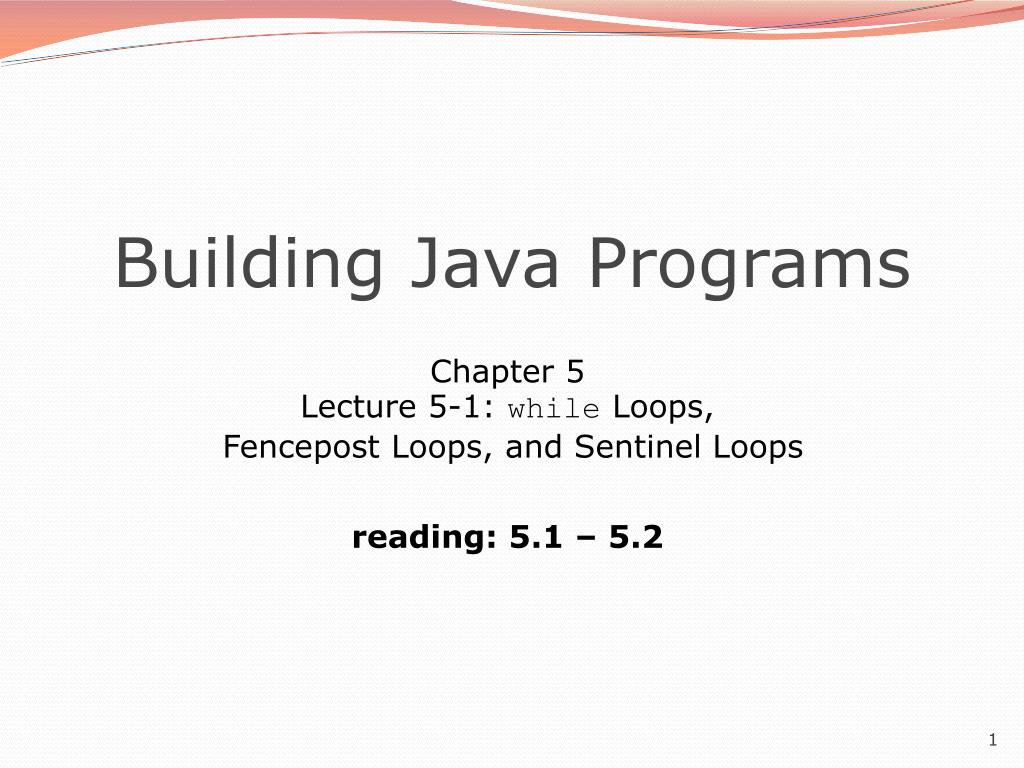building java programs l.