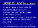 methods ufo 3 study cohort