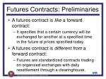 futures contracts preliminaries