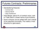 futures contracts preliminaries11
