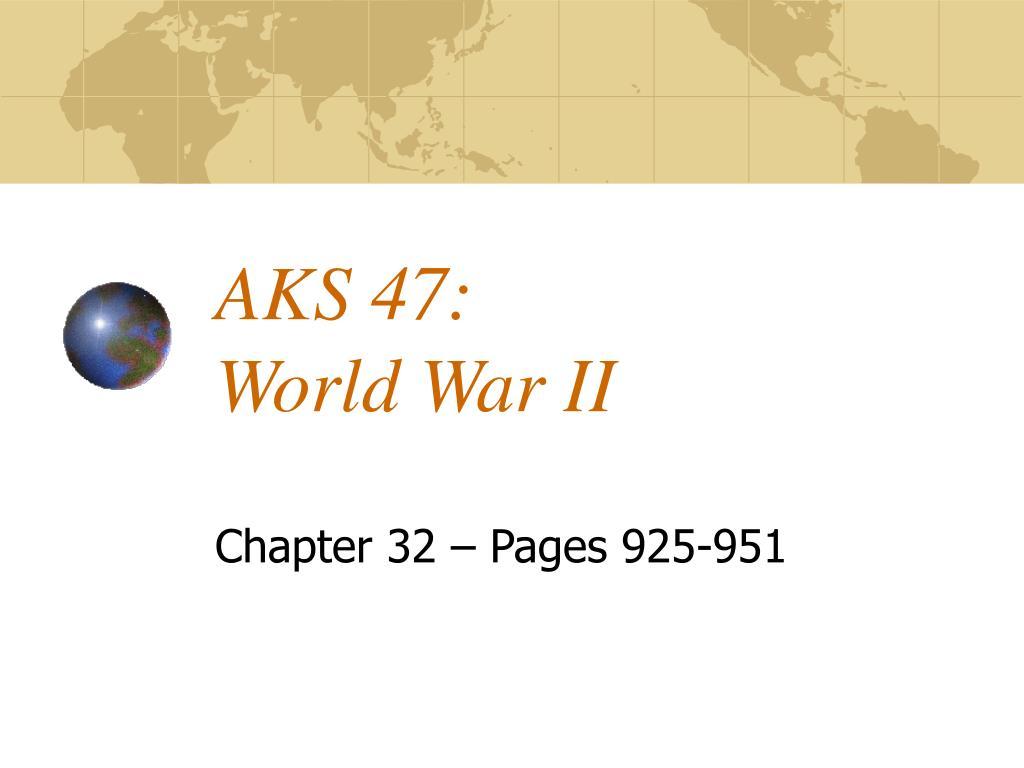 aks 47 world war ii l.