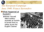 the european campaign june 1940 france surrenders