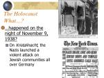 the holocaust what62
