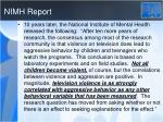 nimh report