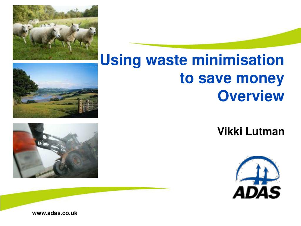 using waste minimisation to save money overview l.