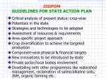 isopom guidelines for state action plan