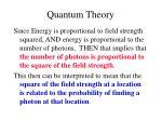 quantum theory13
