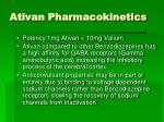 ativan pharmacokinetics25