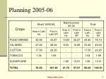 planning 2005 0615