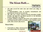 the kisan rath cont
