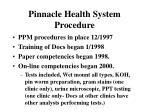 pinnacle health system procedure