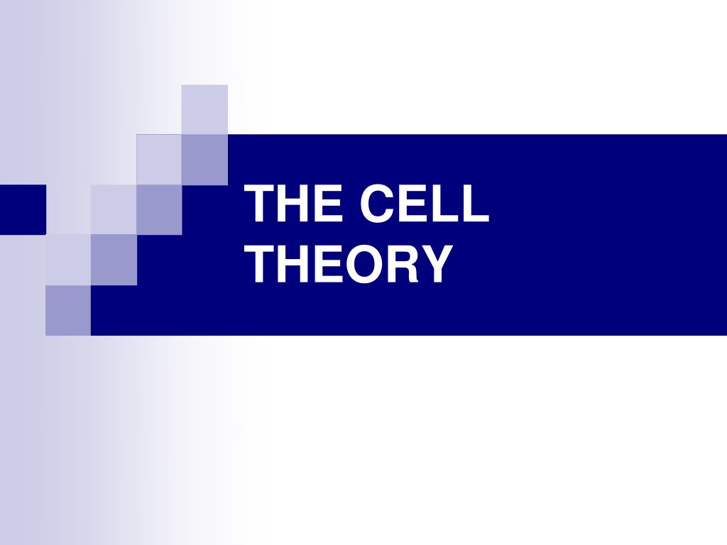 the cell theory l.
