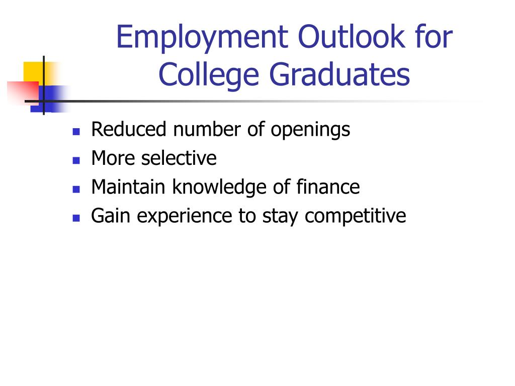 Employment Outlook for College Graduates