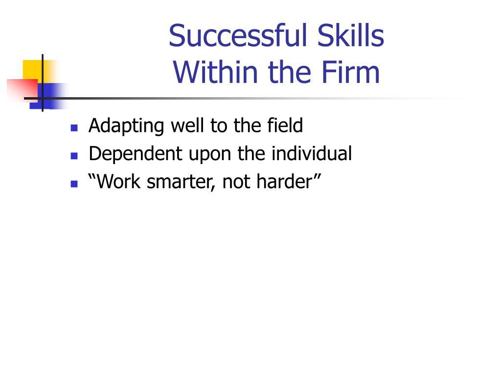 Successful Skills