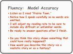 fluency model accuracy