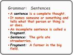 grammar sentences31