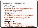grammar sentences66