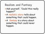 realism and fantasy71