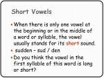 short vowels83