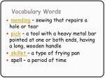vocabulary words14