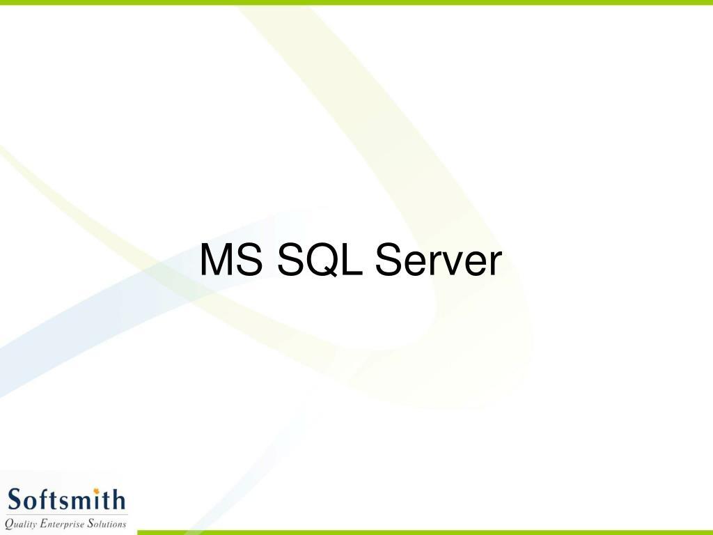 ms sql server l.