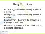 string functions37