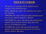 explicit cursor8