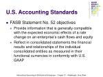 u s accounting standards