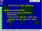 currency call options25
