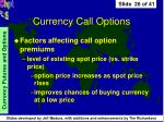 currency call options26