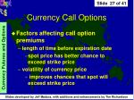 currency call options27