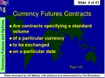 currency futures contracts