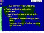 currency put options35