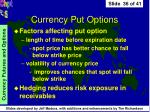 currency put options36