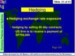 hedging21