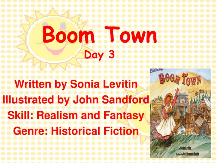 boom town day 3 n.