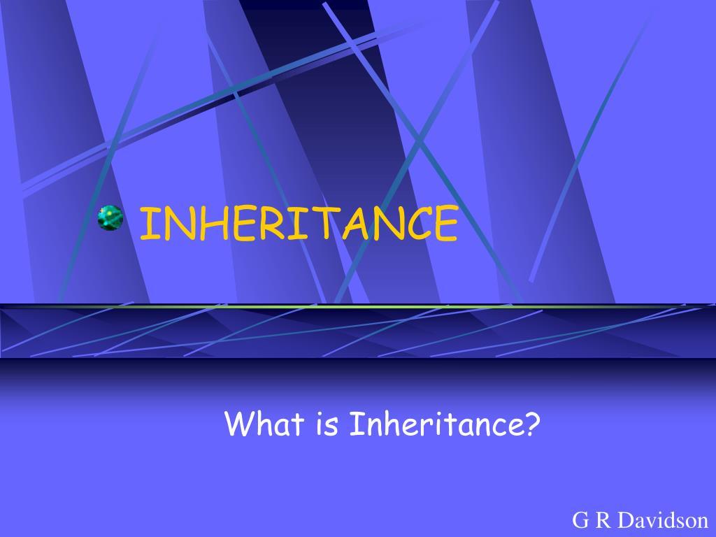 inheritance l.