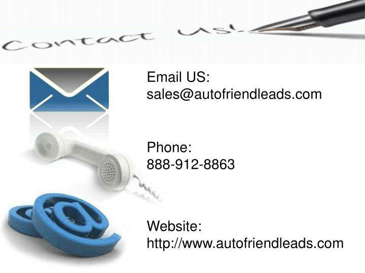 Finding Leads For Car Sales
