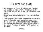 clark wilson 341