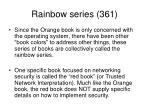 rainbow series 361