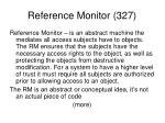 reference monitor 327