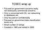 tcsec wrap up79